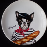 Excellent gift for any occasion - hand-painted porcelain