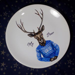 Make someone happy by offering this gift - one-of-a-kind porcelain painted by hand